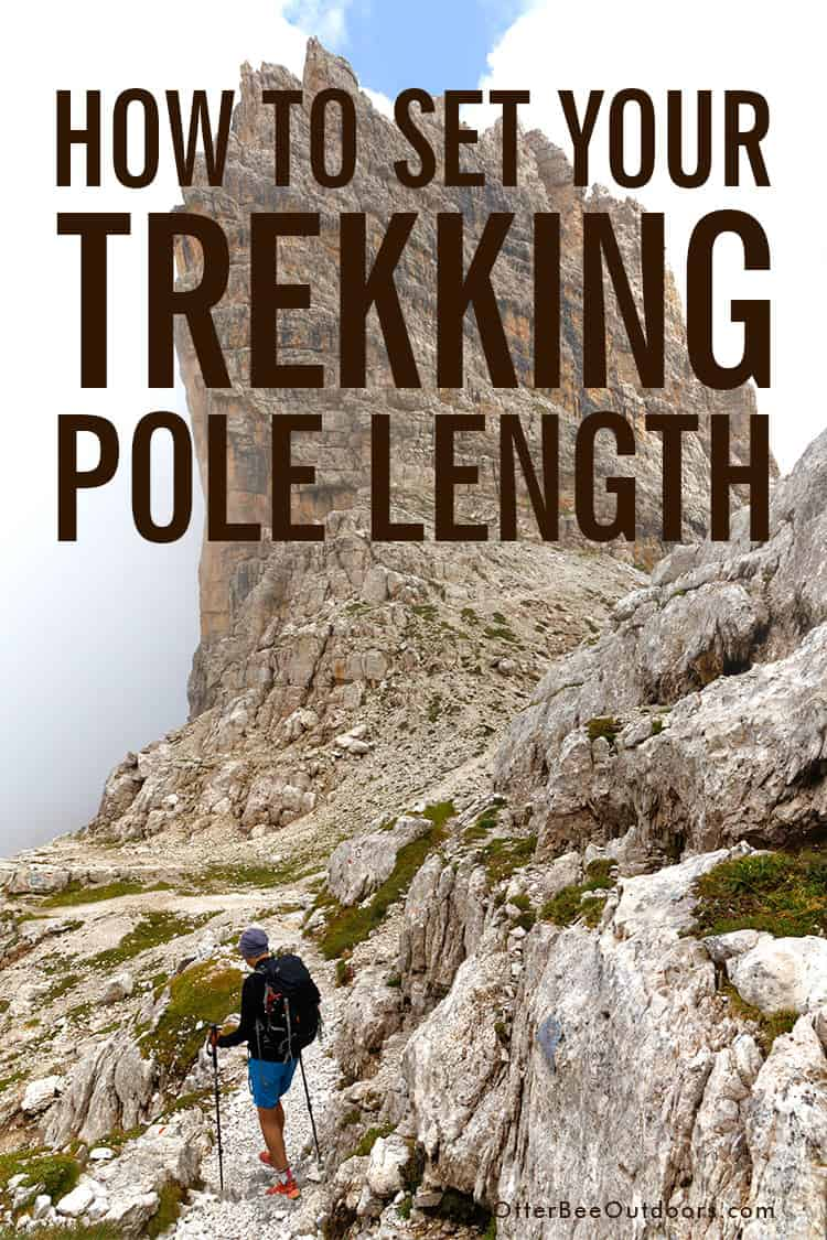 Trekking poles need to be adjusted to different lengths depending on the type of terrain you're hiking. This guide covers the trekking pole lengths for 4 types of terrain: flat, uphill, downhill, and along the contour of a slope, and how the three common locking mechanisms for adjustable poles work. #hikingpoles #trekkingpoles #hikingstaff #hikingsticks #walkingpoles #walkingsticks