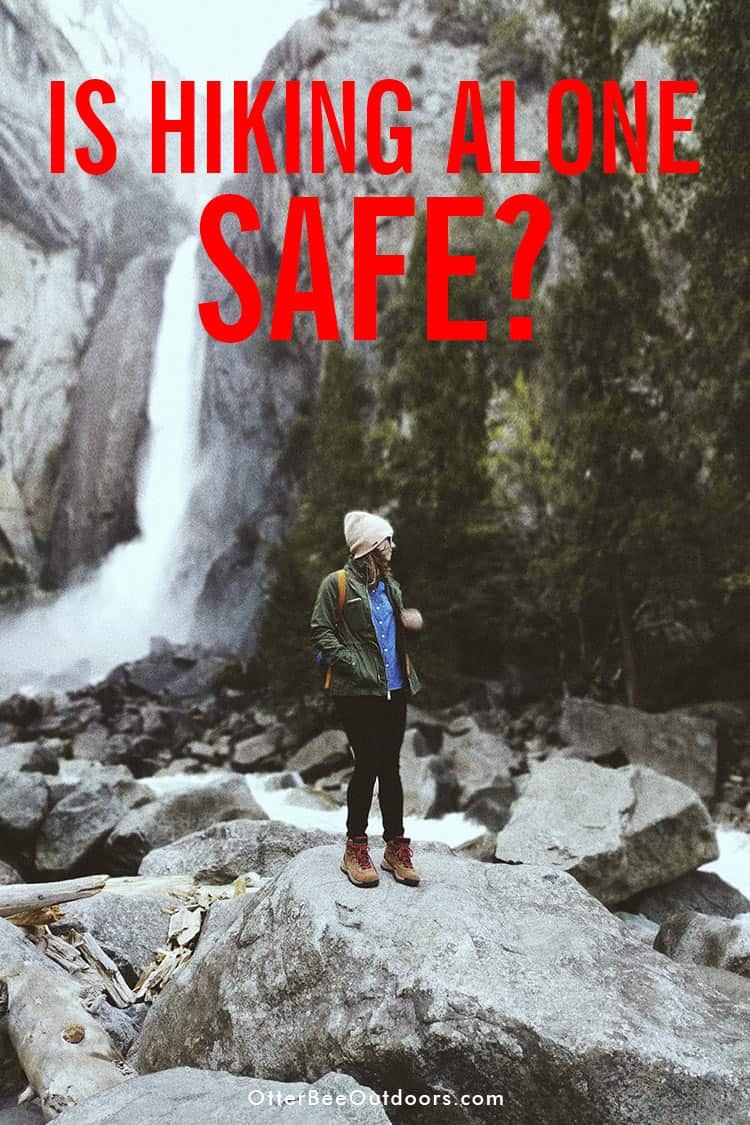 Have you ever gone on a solo hike? Hiking alone is not safe. But is hiking with a partner always safe? Things you need to consider before your next adventure in the woods and tips for solo hiking safety. #hikingalone #hikingalonewoman #hikingalonetips #solohiking #solohikingwoman #solohikingessentials