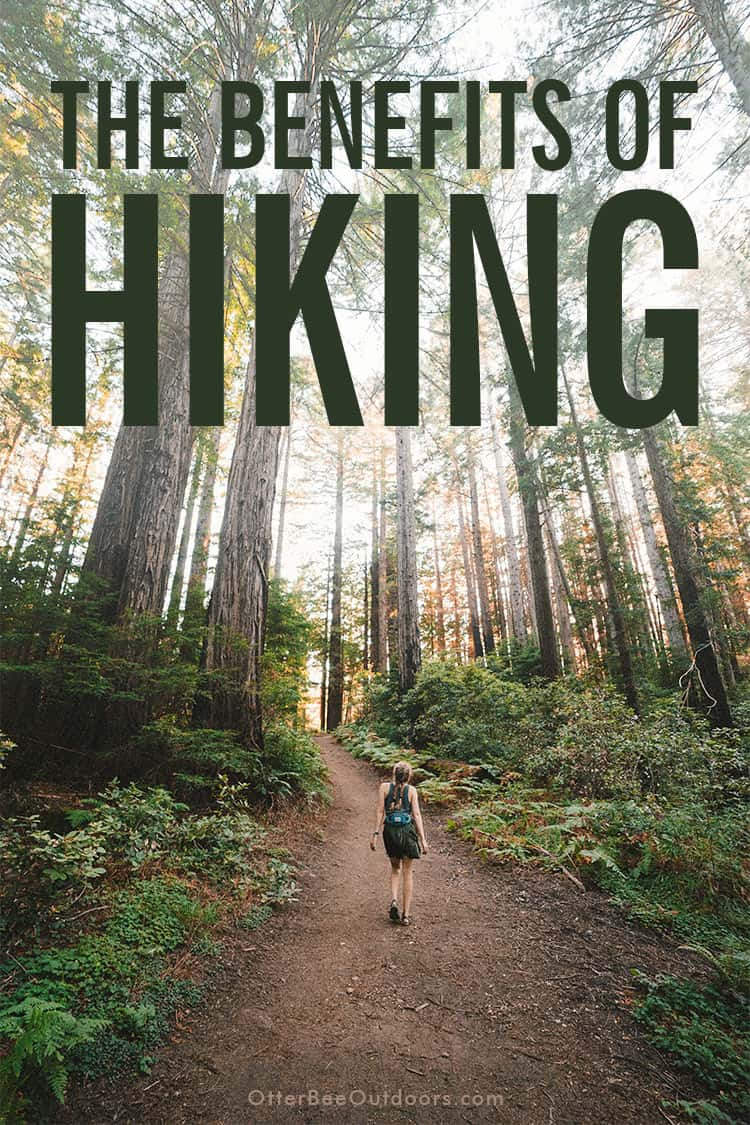 The Purpose Of Hiking? The Benefits: Hiking offers a unique opportunity for exercise, socialization, learning, escape, reflection, expansion of thought, and improved mental well-being. Hiking with others provides a wonderful way to build relationships with people who share the love of hiking and outdoors. Motivating and supporting one another on a hike opens communication, bonds between friends and family grow stronger, and new friendships are formed with people who were once strangers.