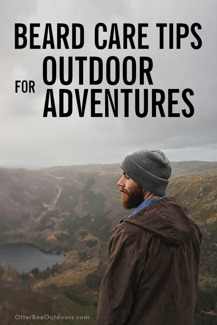 Beard care tips for outdoor adventures. Unless you always use unscented beard products, you should have an outdoorsman beard care kit separate from your everyday beard care products and styling tools. Unscented beard oils and beard balms are best in the outdoors. Scented products can attract bugs and other animals like bears. You don't want to use your everyday beard comb and beard brush that will have residual product in the bristles.