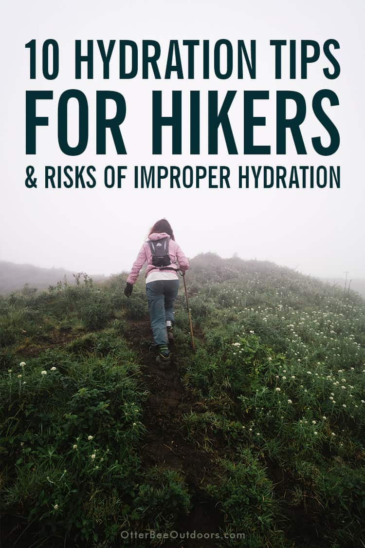 10 Hydration Tips for Hikers: What to Drink While Hiking - Water and Electrolytes   How Much to Drink   How to Drink for Preventing Dehydration   Avoid Caffeine and Alcohol   Pre-hydrate   Rehydrate and Replenish Electrolytes   Drink More at Higher Altitudes   Risk of Dehydration is Greater in Cold Temperatures   Wear Sun Protection   Dehydration Risk Increases with Age