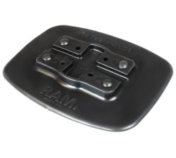 RAM Bond-A-Base Black Adhesive Base for inflatable kayaks and other inflatable boats.