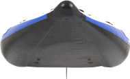 Front view of a Sea Eagle 380X Explorer Inflatable Kayak.