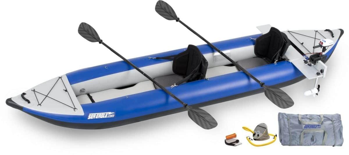 Sea Eagle 420X Explorer Inflatable Kayak, Model Number 420XK_PM.