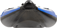 Front view of a three-person Sea Eagle 420X Explorer Inflatable Kayak.
