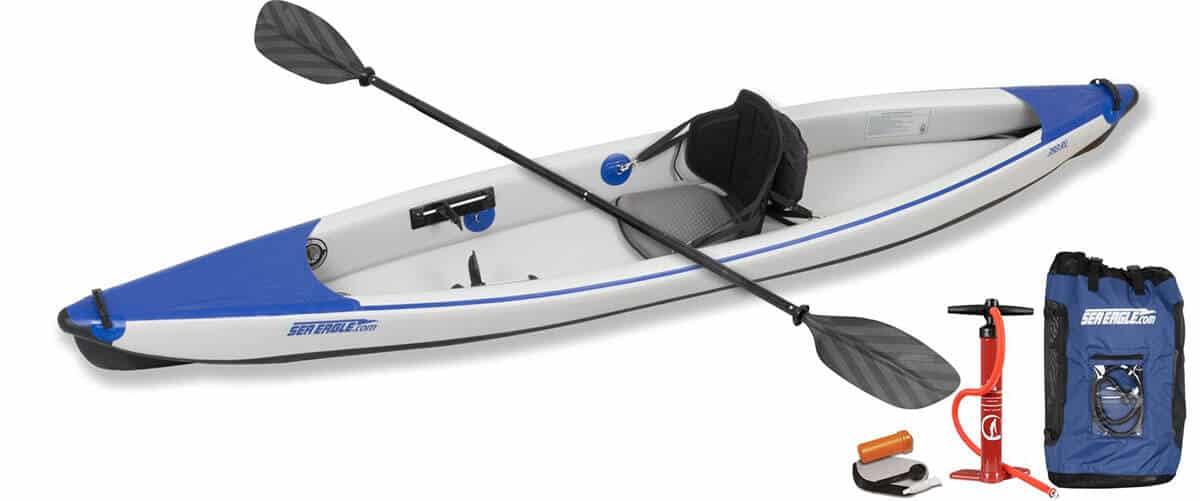 Sea Eagle 393rl RazorLite inflatable kayak Pro Solo Package 393RLK_P.
