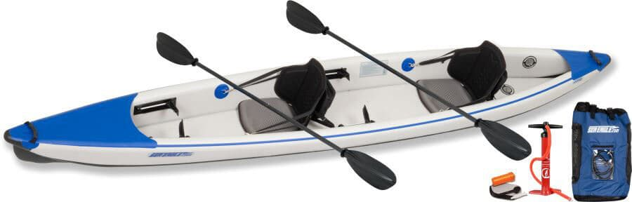 Sea Eagle 473rl RazorLite Inflatable Kayak Pro Carbon Tandem Package 473RLK_PC.