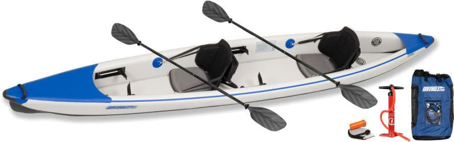 Sea Eagle 473rl RazorLite Inflatable Kayak Pro Tandem Package 473RLK_P.