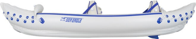 Side View of the Sea Eagle 330 Sport Inflatable Kayak.