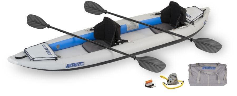 Sea Eagle 385ft FastTrack Inflatable Kayak Tandem Pro Package, 385FTK_P.