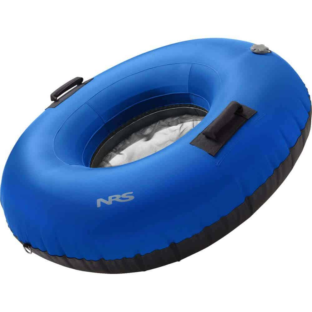 The side view of an NRS Big River Float Tube.