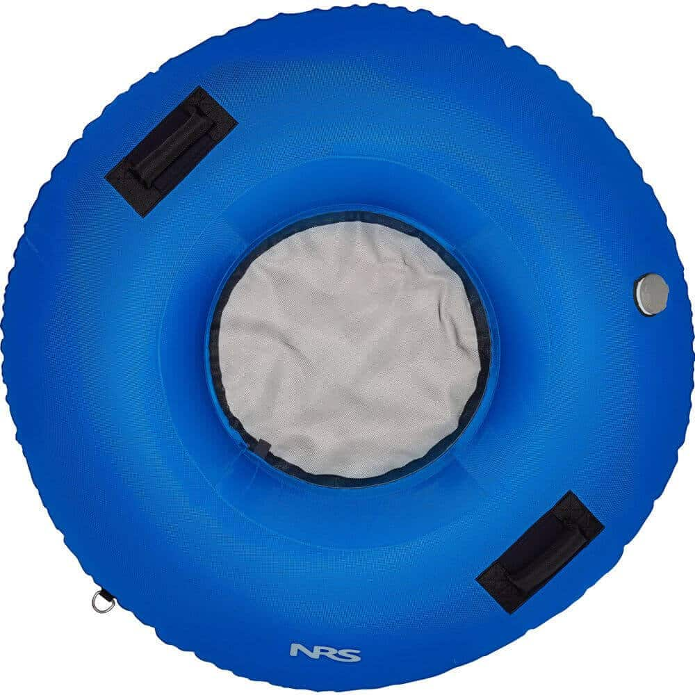 The top view of an NRS Big River Float Tube.