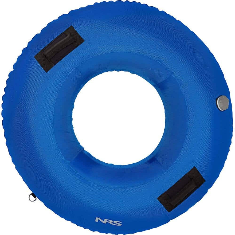 The top view of an NRS Wild River Float Tube without a mesh floor.