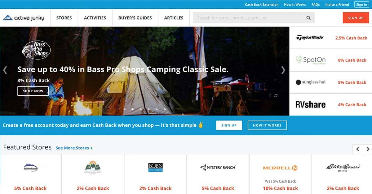 Active Junky | Looking for ways to save money on outdoor gear? Here are the best onlinestores to buy discount outdoor gear.