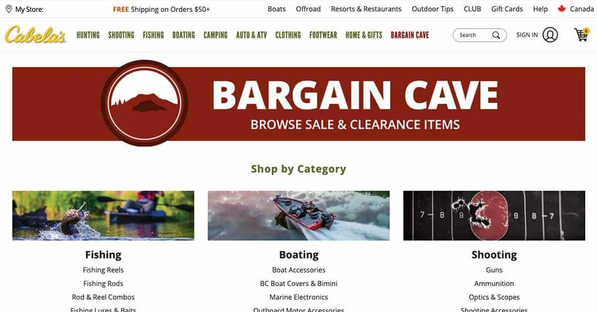 Cabela's and Bass Pro Shops | Looking for ways to save money on outdoor gear? Here are the best onlinestores to buy discount outdoor gear.