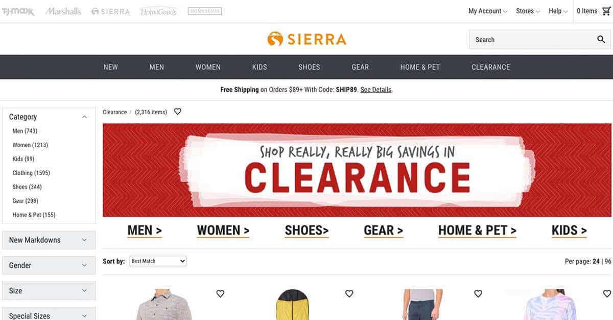 Sierra | Looking for ways to save money on outdoor gear? Here are the best onlinestores to buy discount outdoor gear.