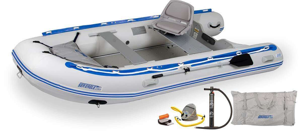 The 126SRK_SW Sea Eagle 12'6″ Sport Runabout Inflatable Boat - Swivel Seat Package.